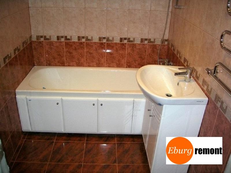 Ремонт ванной комнаты под ключ (Екатеринбург)